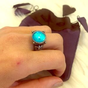 Jewelry - ✨🎁✨ Blue Ring size 7/8